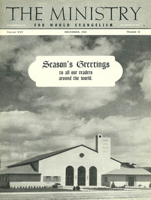 December 1952 cover image