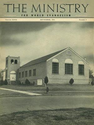 September 1954 cover image