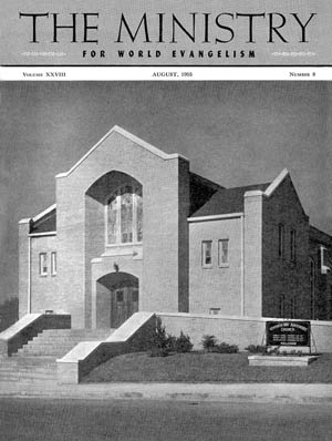 August 1955 cover image