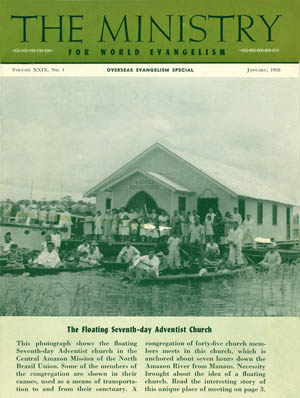 January 1956 cover image