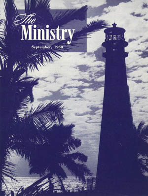 September 1958 cover image
