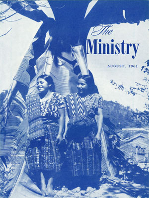 August 1961 cover image