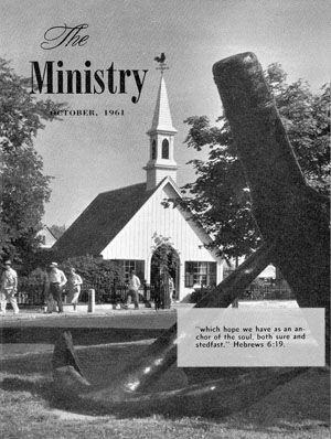 October 1961 cover image