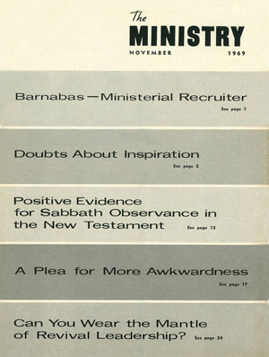 November 1969 cover image