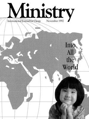 November 1992 cover image