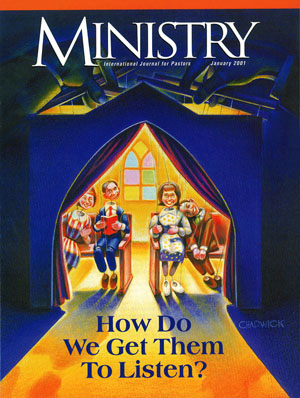 January 2001 cover image