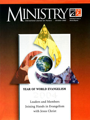 October 2003 cover image