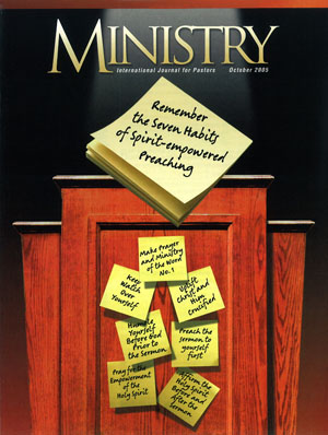 October 2005 cover image